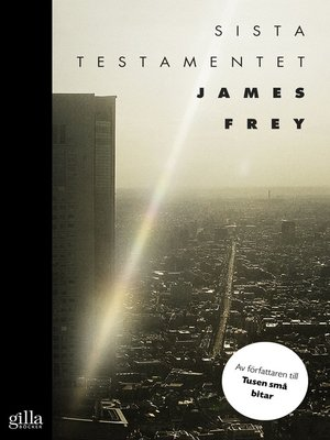cover image of Sista testamentet