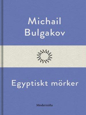 cover image of Egyptiskt mörker