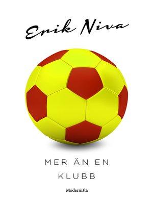 cover image of Mer än en klubb