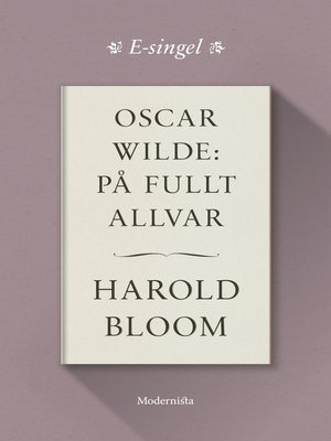 cover image of Oscar Wilde