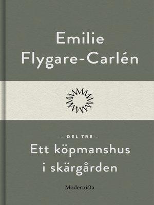cover image of Ett köpmanshus i skärgården (Del tre)