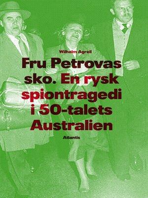 cover image of Fru Petrovas sko