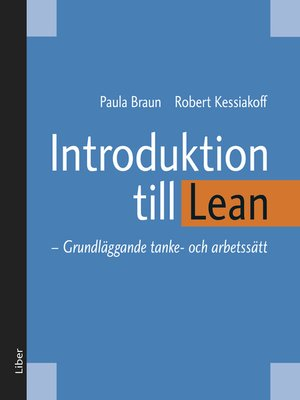 cover image of Introduktion till Lean