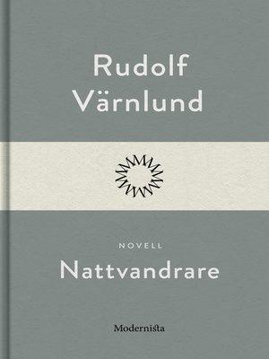 cover image of Nattvandrare