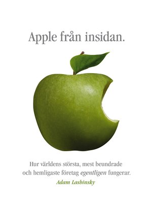 cover image of Apple från insidan