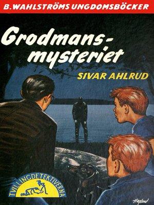 cover image of Tvillingdetektiverna 25--Grodmans-mysteriet