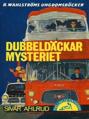 cover image of Tvillingdetektiverna 35--Dubbeldäckar-mysteriet