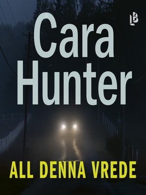 cover image of All denna vrede