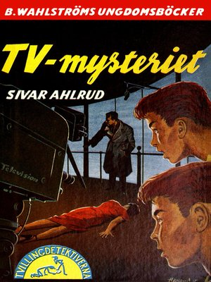 cover image of Tvillingdetektiverna 15--TV-mysteriet