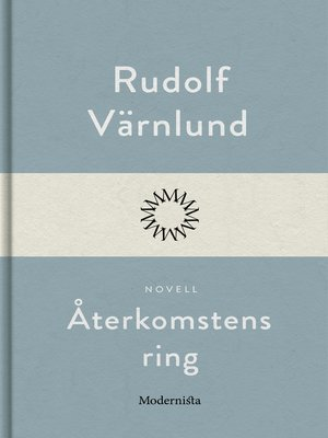 cover image of Återkomstens ring