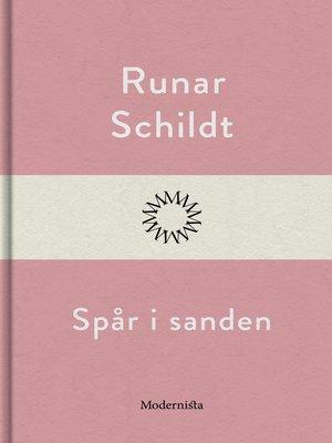 cover image of Spår i sanden