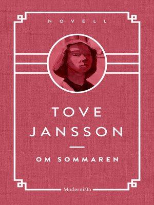 cover image of Om sommaren