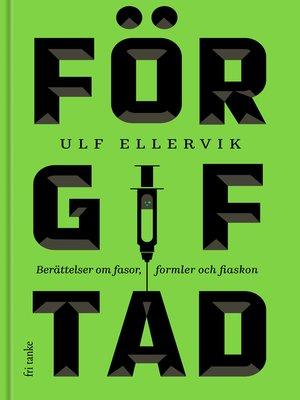 cover image of Förgiftad