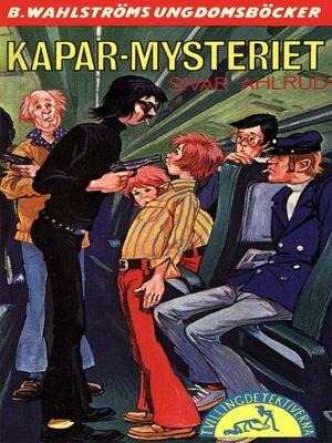 cover image of Tvillingdetektiverna 44--Kapar-mysteriet