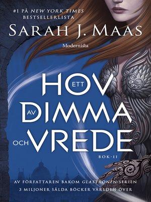 cover image of Ett hov av dimma och vrede (Ett hov av taggar och rosor, #2)