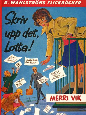 cover image of Lotta 8--Skriv upp det, Lotta!