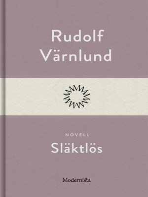 cover image of Släktlös