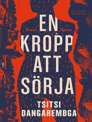cover image of En kropp att sörja