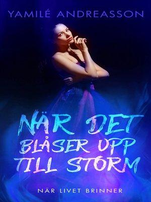 cover image of När livet brinner