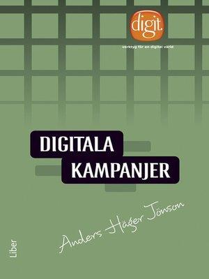 cover image of Digitala kampanjer