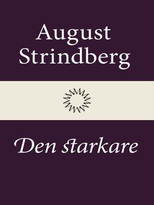 cover image of Den starkare