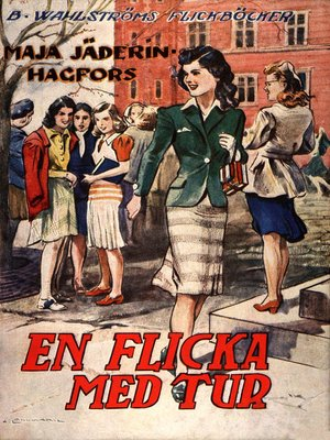 cover image of En flicka med tur