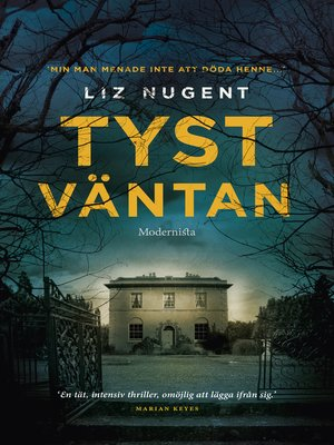 cover image of Tyst väntan