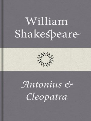 cover image of Antonius och Cleopatra