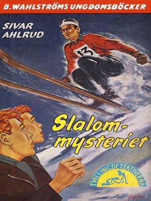 cover image of Tvillingdetektiverna 28--Slalom-mysteriet