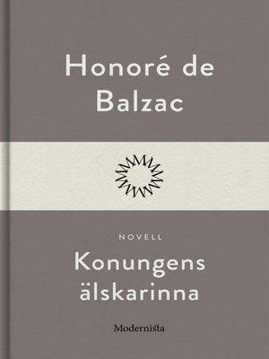 cover image of Konungens älskarinna