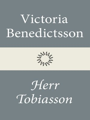 cover image of Herr Tobiasson