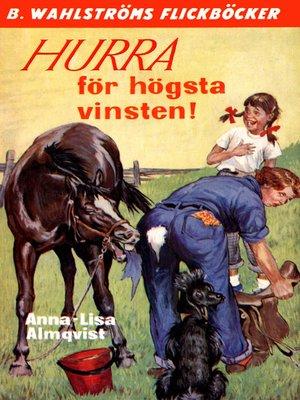 cover image of Hurra för högsta vinsten!