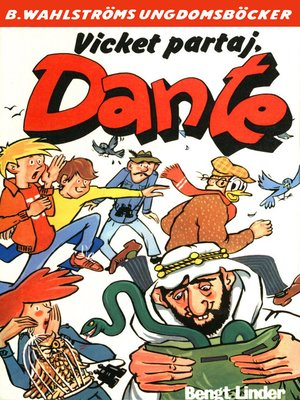 cover image of Dante 26--Vicket partaj, Dante