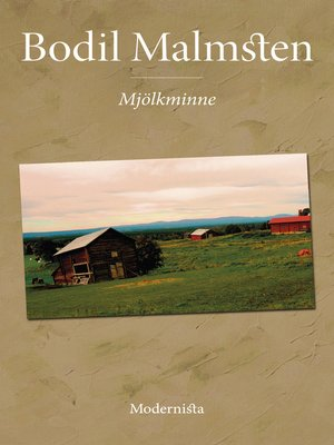 cover image of Mjölkminne