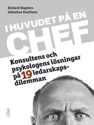 cover image of I huvudet på en chef