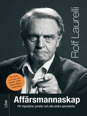 cover image of Affärsmannaskap för ingenjörer, jurister och alla andra specialister