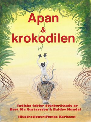 cover image of Apan & krokodilen
