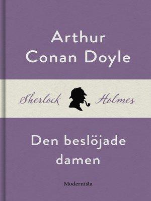 cover image of Den beslöjade damen (En Sherlock Holmes-novell)