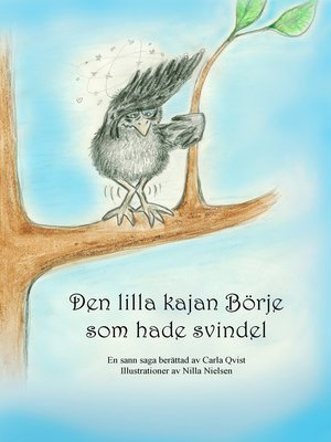 cover image of Den lilla kajan Börje som hade svindel