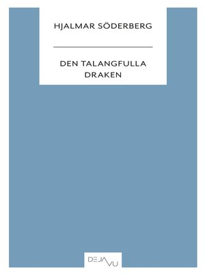 cover image of Den talangfulla draken