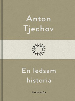 cover image of En ledsam historia