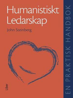 cover image of Humanistiskt ledarskap