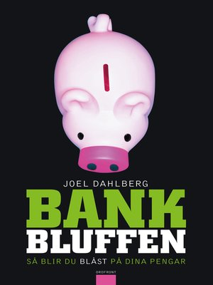 cover image of Bankbluffen