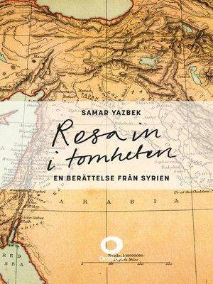 cover image of Resa in i tomheten
