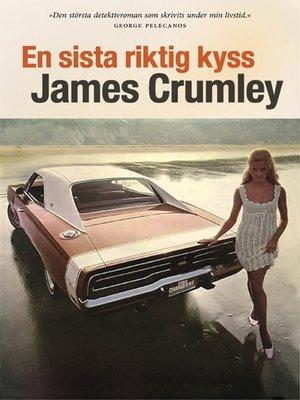 cover image of En sista riktig kyss