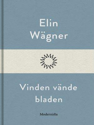 cover image of Vinden vände bladen