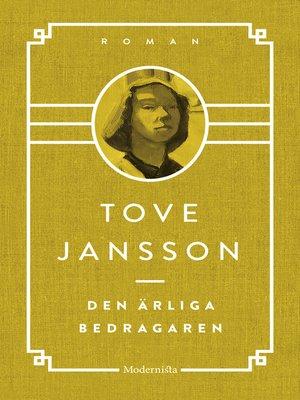cover image of Den ärliga bedragaren