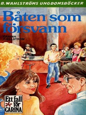 cover image of Båten som försvann