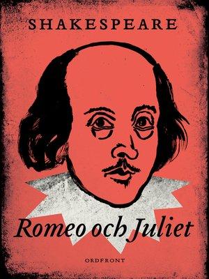 cover image of Romeo och Julia