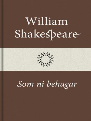 cover image of Som ni behagar